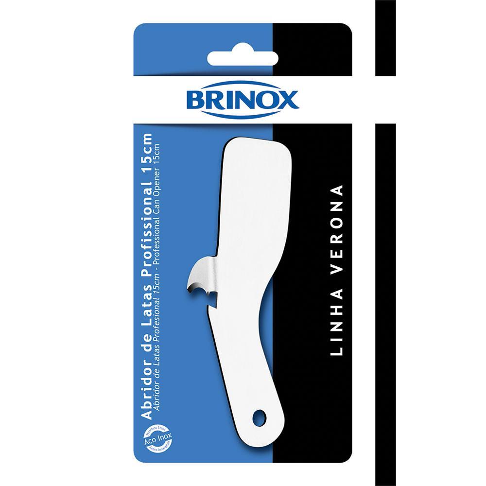 Abridor De Latas Profissional Inox 15cm Brinox cód. 2154/301