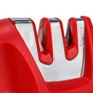 Afiador e polidor de facas 10 cm em aço Inox e cerâmico cod. 6257 Weck