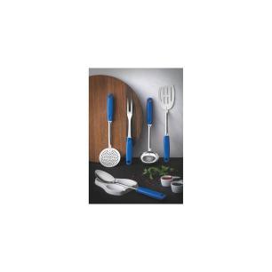 Jogo De UtensÍLios Tramontina UtilitÁ Em AÇO Inox Com Cabos De Polipropileno Azul 6 PeÇAs 25699108