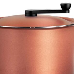 Pipoqueira Antiaderente 5,5 litros Clove Brinox cod. 7111/483
