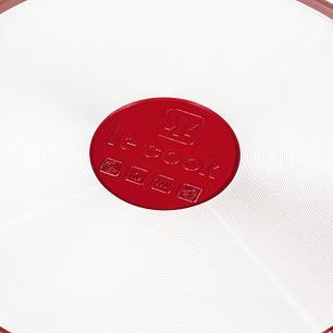 Frigideira Revestimento Cerâmico 28 cm Red Le Cook LC1848