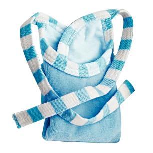 Kit Infantil Tramontina Le Petit para Refeição Azul em Aço Inox 6 Peças