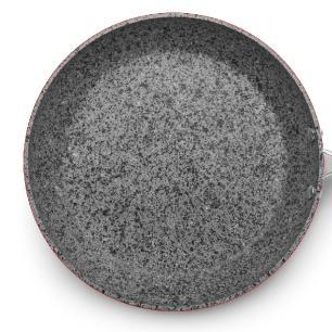 Frigideira Antiaderente Granito Stone Flon nr 28 2,7l MTA