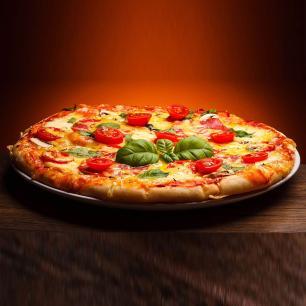 Forma Assadeira Pizza Média 30cm Kit 05 peças ASJ