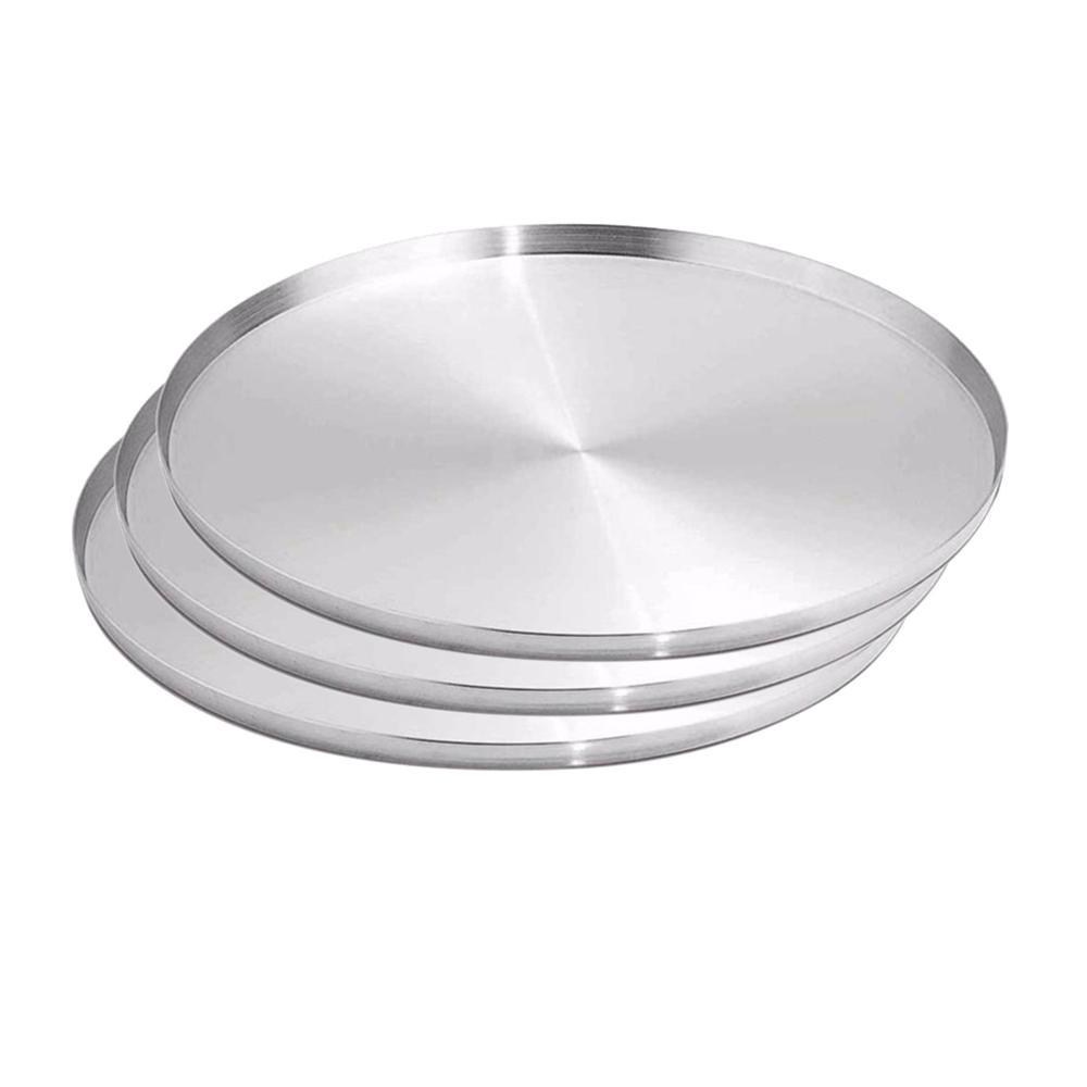 Forma Assadeira Pizza Brotinho 25cm Kit 03 peças ASJ