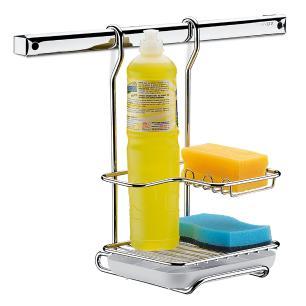 Suporte para Sabao, Detergente E Esponja Brinox cód. 2200/012