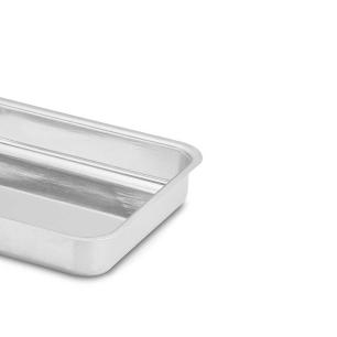 Forma Assadeira Alta Retângular 5,8 Litros Alumínio Nigro 3222