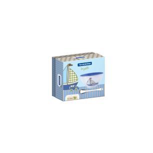 Kit Infantil Tramontina Le Petit Azul Com Cumbuca Em CerÂMica E Colher Em AÇO Inox 64250660