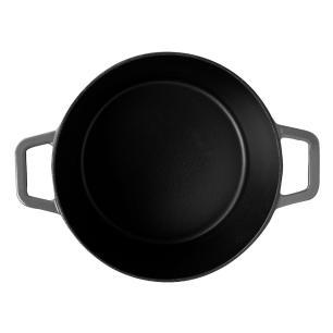 Caçarola Sauté 4,80 Litros Ferro Cinza Brinox 57502/152
