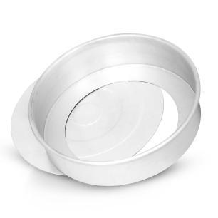 Forma Assadeira 2,0 Litro para Bolo com Fundo Removivel Alumínio Nigro 49200