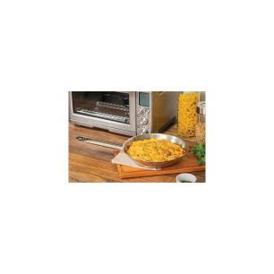 Frigideira Tramontina Professional Rasa Em AÇO Inox Fundo Triplo Com Cabo 20 Cm 1,1 L 62635200