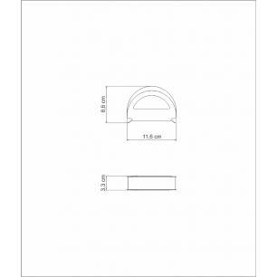 Porta Guardanapos Tramontina Cosmos Em AÇO Inox 61216120