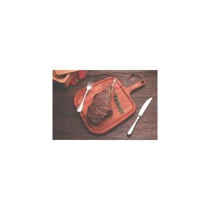TÁBua Para Steak Tramontina Provence Em Mogno Africano Com Cabo 40x27 Cm 13351641