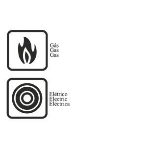 Jogo Tapioqueira/Bistiqueira De AlumÍNio Com Revestimento Interno De Antiaderente 3 PeÇAs Tramontina