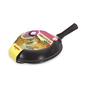 Omeleteira Antiaderente nr 18 Preta Fortaleza