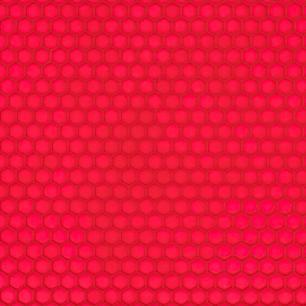 Descanso de Panela Redondo Silicone Vermelho 18 cm Weck