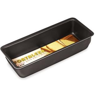 Forma para pão e bolo Antiaderente Grande Preta Fortaleza