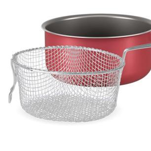 Fritadeira 20x10 cm 2,65l Chilli Brinox cod. 7015/389