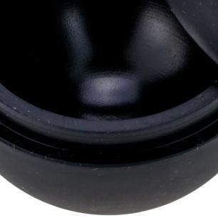 Forma de Gelo Esfera 60mm em Silicone Preto cod. 5309 Weck