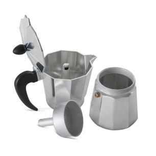 Cafeteira Aluminio 3 Xicara 150ml Verona Brinox cód. 2182/101