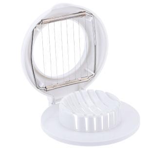 Fatiador de ovos Inox 11 cm  Branco 6268 Weck