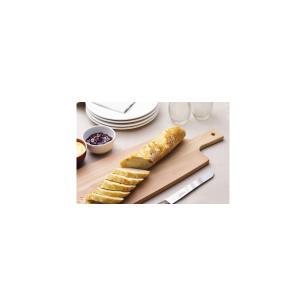 TÁBua Para PÃO Tramontina Cut & Taste Em Madeira Eucalipto Com Cabo E Furo 48x19 Cm 13279292
