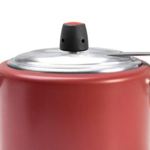 Panela De Pressão 4,5 Litros Vapt Vermelha Brinox cód. 7011/168