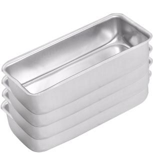 Forma de pão e gelo Nr 01 kit com 04 peças ASJ