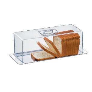 Porta Pão Torta Fria Rocambole 2 Pecas Atina Brinox cód. 1419/100