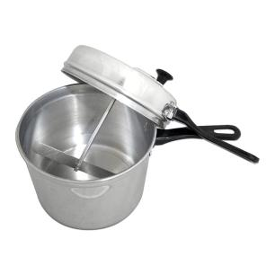 Kit Pipoqueira 4,5 litros e Espumadeira Laranja Weck