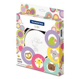 Prato Infantil Tramontina Baby Em AÇO Inox Elefante 23 Cm 61254230