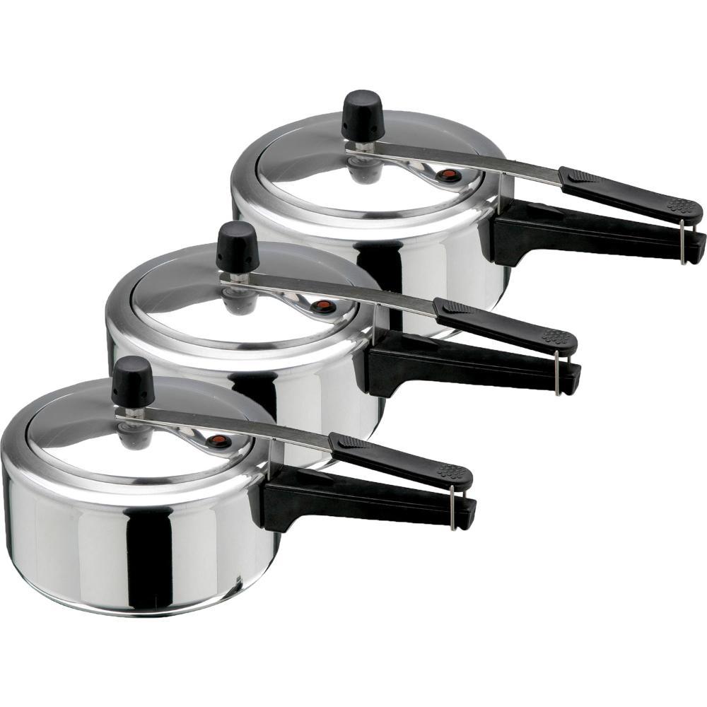 Kit Panela de pressão 3 peças de 3 litros INMETRO