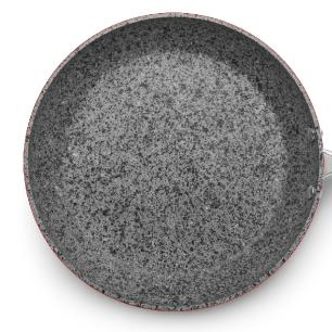Frigideira Antiaderente Granito Stone Flon nr 24 1,8l MTA