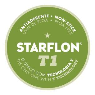 Frigideira Funda Tramontina Paris Em AlumÍNio Com Revestimento Antiaderente Starflon T1 Vermelho 24
