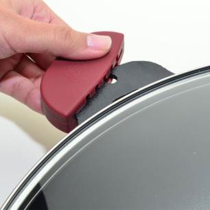 Disco alto de ferro fundido com tampa de vidro nr. 36 de 6,9 litros MTA