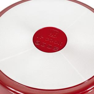 Frigideira Revestimento Cerâmico 24 cm Red Le Cook LC1846