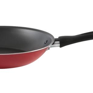Frigideira Antiaderente 24X4cm 1,45L Garlic Vermelha Brinox cód. 7001/355