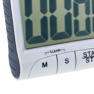 Timer Digital de cozinha com imã LCD 6,5 x 4 cm cod. 6260 Weck
