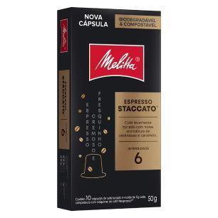 Cápsula de Café Espresso Melitta Staccato  - 10 unidades