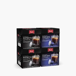 Kit Melitta Cápsulas Espressos Intensos