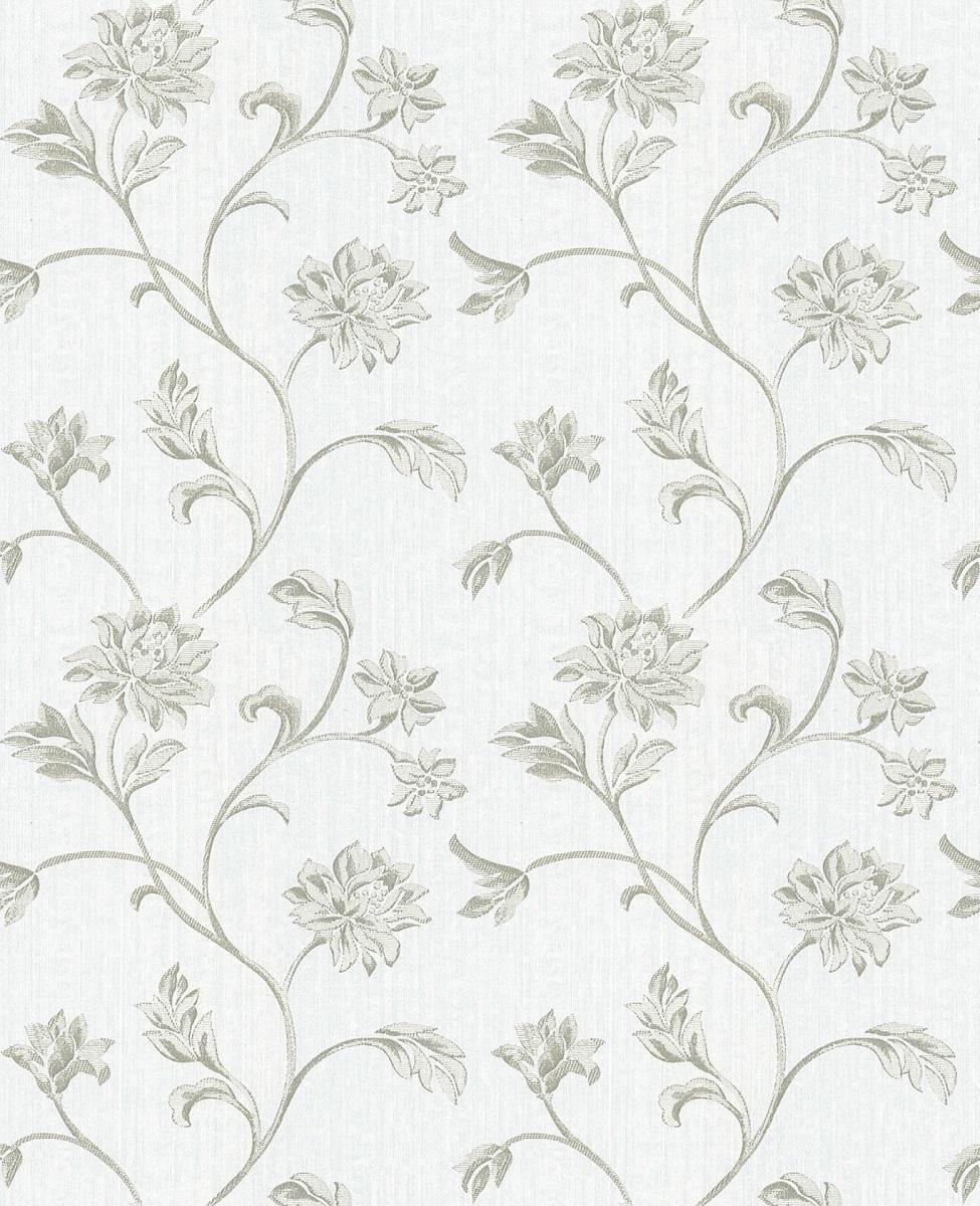 Papel De Parede Vinilico Estampa Floral Fácil Limpeza Quarto