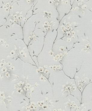 Papel De Parede Non-Woven Estampa Flores Respirável