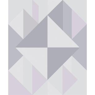 Parel De Parede Vinílico Cobertura 5 M2 Geométrico Durável