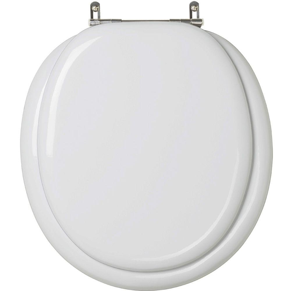 Assento Sanitario Almofadado Convencional   Oval Cinza Prata para vaso Celite