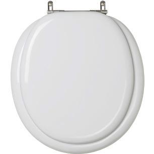 Assento Sanitario Almofadado Convencional | Oval Silver para vaso Ideal Standard