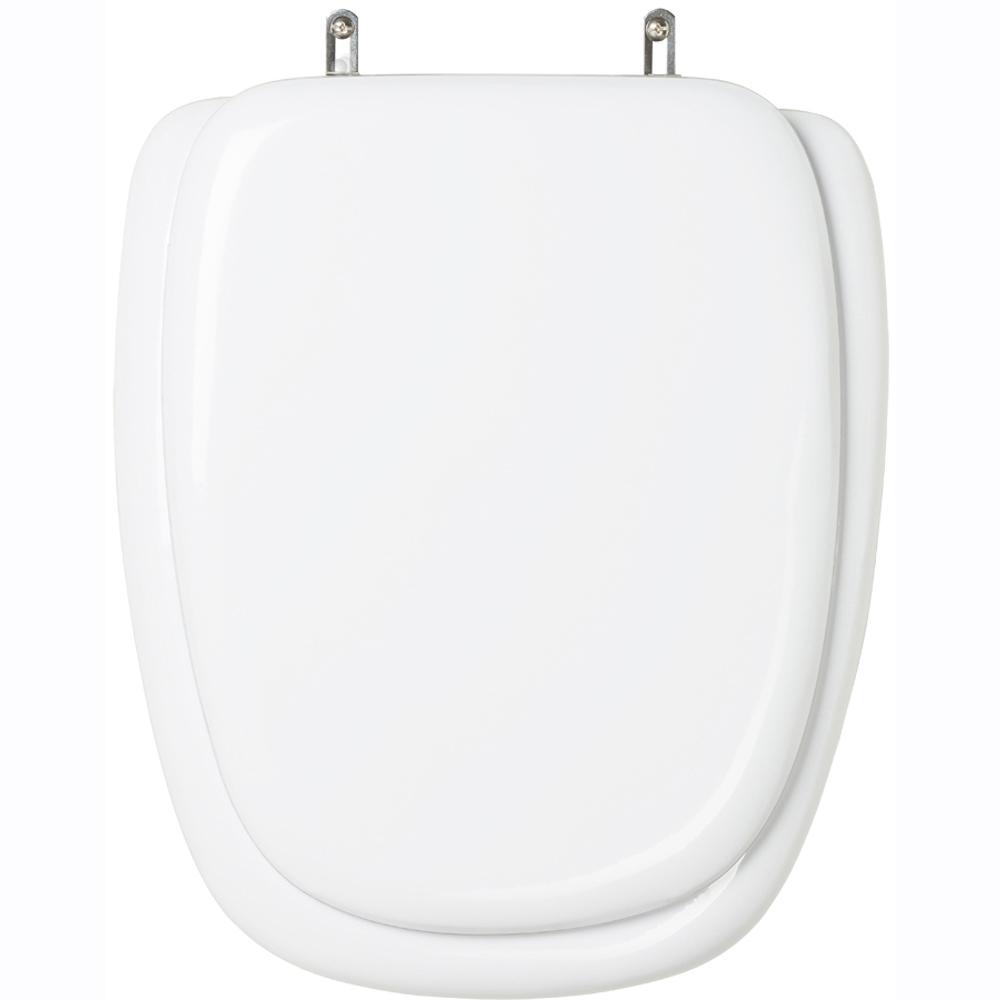 Assento Sanitário Almofadado Savary Branco para vaso Eternit
