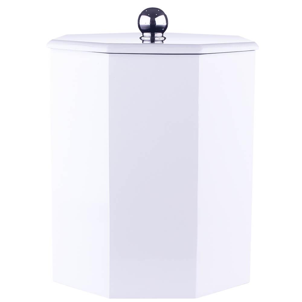 Lixeira Para Banheiro Branca 6,2l