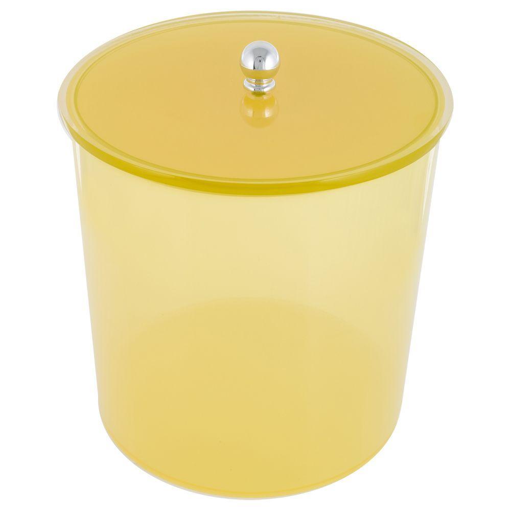Lixiera Colors 6,2 litros - Amarelo Translucido