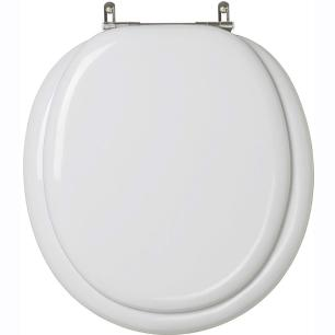 Assento Sanitario Almofadado Classica Cinza Prata para vaso Celite