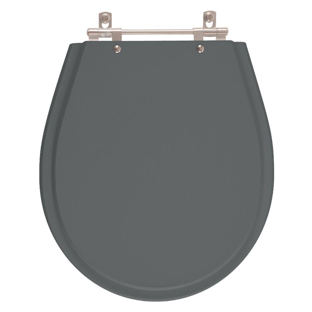 Assento Sanitario Poliester Avalon Cinza Quartzo para vaso Ideal Standard